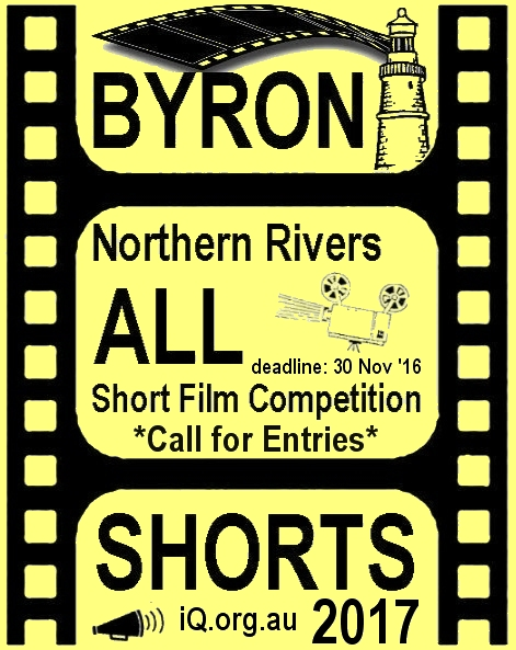Byron All Shorts 2017 call for entries