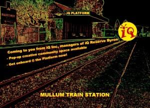 iQ Platform Mullum Railway Train Station