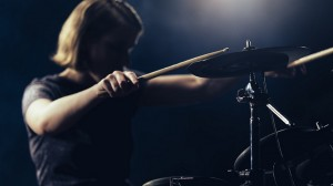 Drummer Girl still