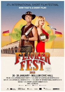 Flickerfest 2018 poster Mullum Byron