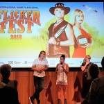BAS & Mullum Flickerfest 2018 opening night Welcome To Country w Delta Kaye lg