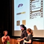 Mullum Flickerfest Byron All Shorts awards- Karenza Ebejer, Shane Rennie, Bronwyn Kidd (iQ-Flickerfest Highly Commended Award) (2)