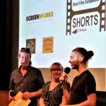 Mullum Flickerfest Byron All Shorts awards- Shane Rennie, Bronwyn Kidd, Luca Fox (SAE Qantm Emerging Talent Award) (2)