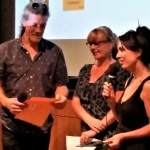 Mullum Flickerfest Byron All Shorts awards- Shane Rennie, Bronwyn Kidd, Sophie Hexter 2 (iQ-Flickerfest Audience Award) (2)