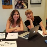 Fabi Neff (Flickerfest Coordinator) and Bronwyn Kidd (Flickerfest Director)